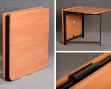 Book-table with metal base 1500х800х750
