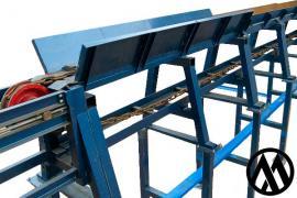 Бревнотаска, ланцюговий транспортер конвеєр для колод
