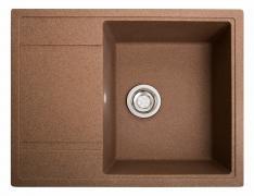 Кухонна мийка Оптима теракот з каменю