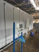 Painting and drying chamber