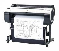 Печать лекал на широкоформатном плоттере