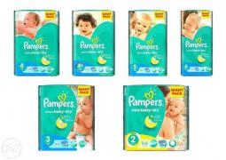"Продам оптом памперсы ""Pampers Active Baby GIANT PACK"""