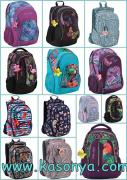 Stationery for schoolchildren and young people. Backpacks KITE