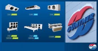 Сухі градирні, конденсатори, повітроохолоджувачі, шокфростери (GUNTNER)